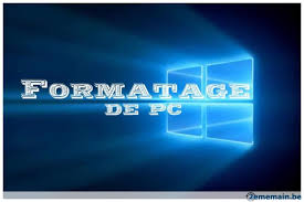 formatage pc Paris 13